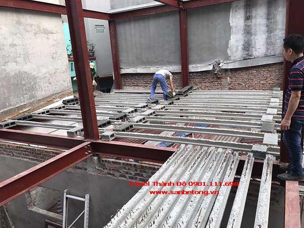 Lắp ghép dầm bê tông dự ứng lực