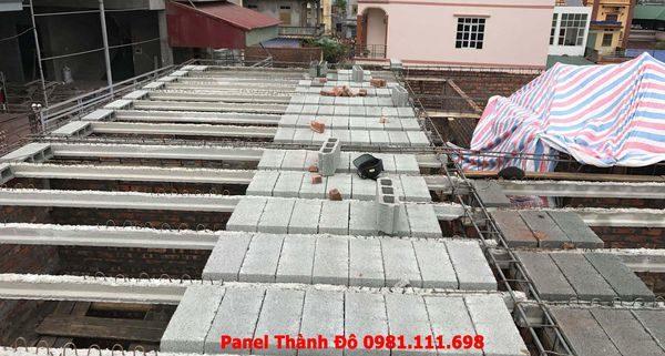 Sàn bê tông nhẹ tại Mỹ Hào