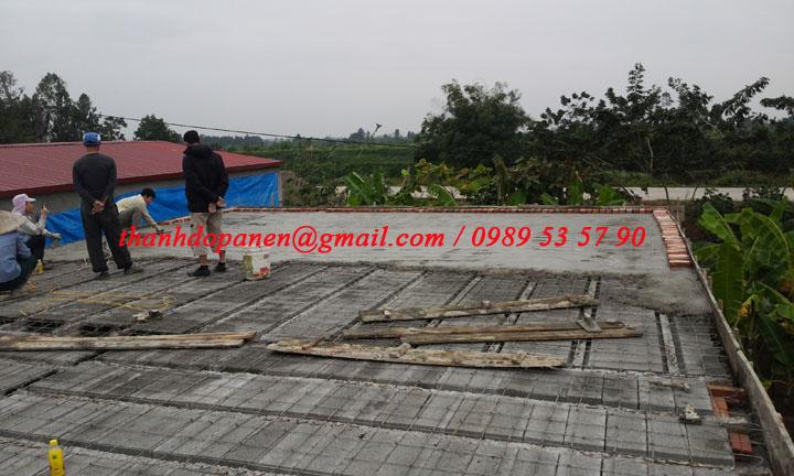 Sàn bê tông panel nhẹ tại Duy Tiên - Hà Nam là công trình xây dựng dân dụng