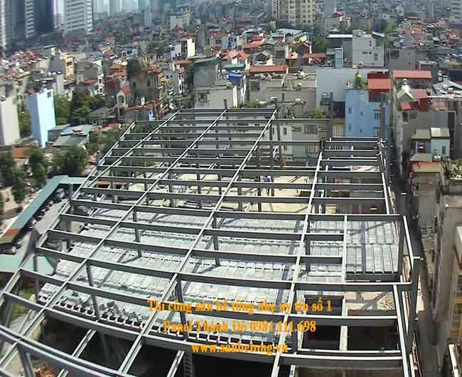 Sàn bê tông nhẹ - panel siêu nhẹ và khung thép tiền chế được ưa dụng trong xây dựng hiện đại