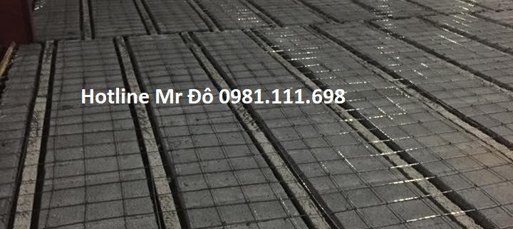 Thi công 300m2 sàn bê tông nhẹ