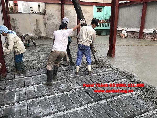Thi công sàn bê tông nhẹ Xuân Mai tại Bắc Ninh