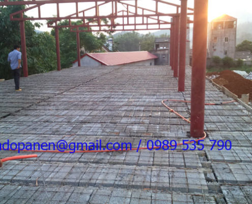 Thi công sàn panel siêu nhẹ tại Lạng Sơn