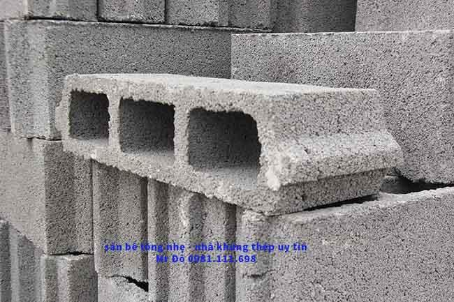 Sàn bê tông nhẹ giúp tiết kiệm chi phí nhân công, chi phí xây dựng