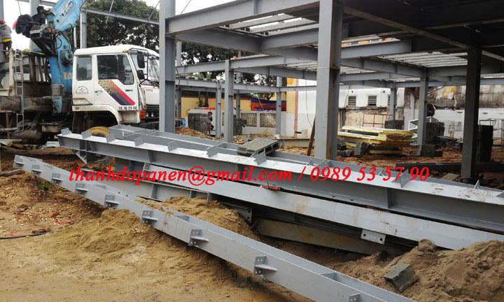 Khung thép tiền chế được sử dụng nhiều trong xây dựng