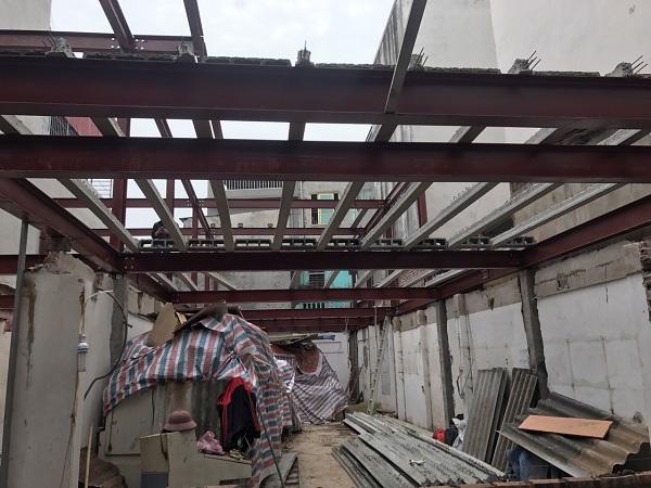 Nhà khung thép được ưu chuộng vì độ bề và thi công nhanh