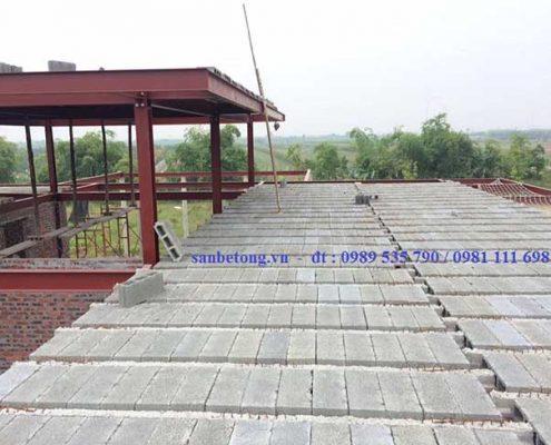 Thi công dầm bê tông dự ứng lực cho sàn bê tông nhẹ