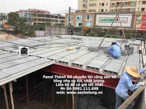 Sàn bê tông nhẹ được ưa dùng trong xây dựng vì nhiều ưu điểm vượt trội
