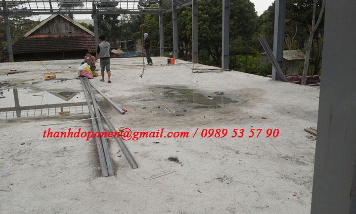 Sàn panel nhẹ được sử dụng cả trong công trình xây dựng công nghiệp và dân dụng