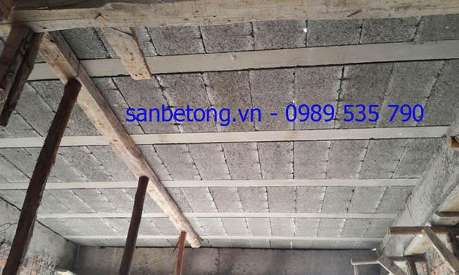 Mặt sàn bê tông nhẹ có độ bám dính cao rất hữu hiệu cho việc trát trần
