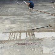 Sàn bê tông nhẹ được bảo dưỡng