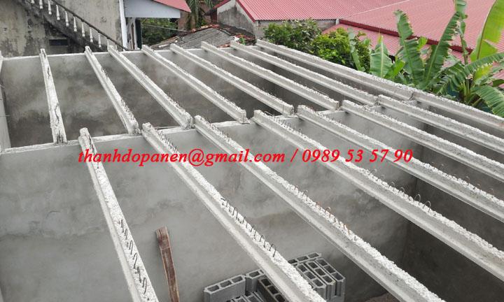 Thi công sàn bê tông nhẹ tại Duy Tiên - Hà Nam