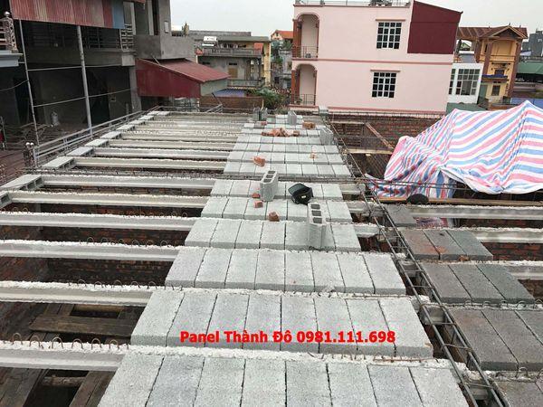 Thi công sàn bê tông nhẹ tại Mỹ Hào - Hưng Yên