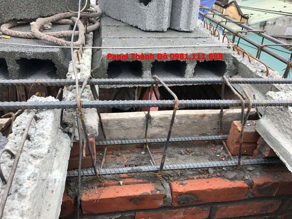 Cận cảnh kết sàn bê tông nhẹ tại Mỹ Hào - Hưng Yên