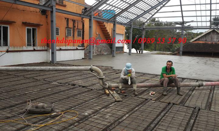 San panel nhẹ có nhiều ưu điểm vượt trội so với sàn bê tông truyền thống