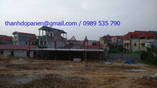 Toàn cảnh thi công sàn panel siêu nhẹ cho nhà hàng hải sản Lạng Sơn