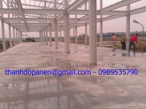 Công trình khung thép tiền chế tại Hưng Yên