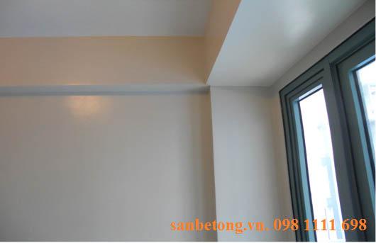 Tấm tường bê tông nhẹ Acotec sau khi được hoàn thiện