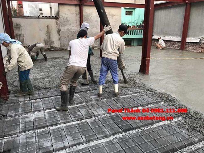 Sàn bê tông nhẹ dễ dàng thi công nhanh chóng