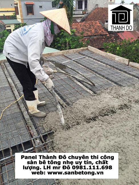 Sàn bê tông nhẹ (sàn panel siêu nhẹ) có nhiều ưu điểm vượt trội so với sàn bê tông truyền thống