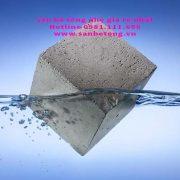 Một loai bê tông nhẹ nổi được trên mặt nước