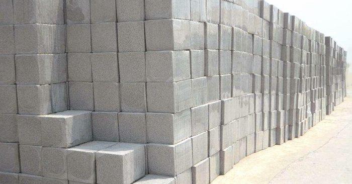 Gạch bê tông bọt nhẹ được sử dụng nhiều trong xây dựng hiện đại