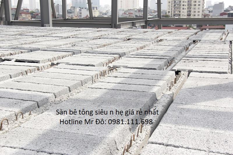 Một công trình xây dựng dùng bê tông siêu nhẹ ở Hà Nội