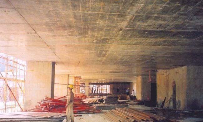 Sàn bê tông dự ứng lực sẽ hạn chế được các cột bê tông