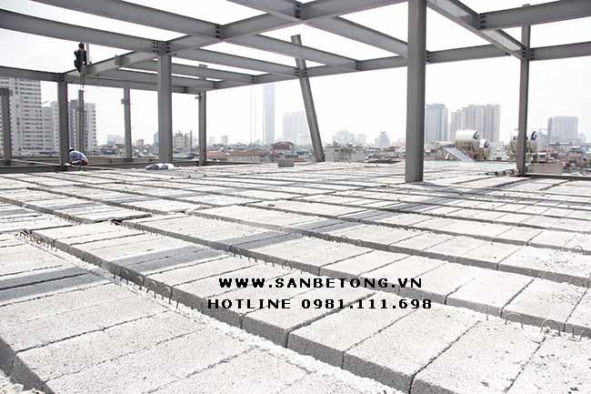 Giá sàn bê tông nhẹ còn tùy thuộc vào nhu cần thực tế của khách hàng