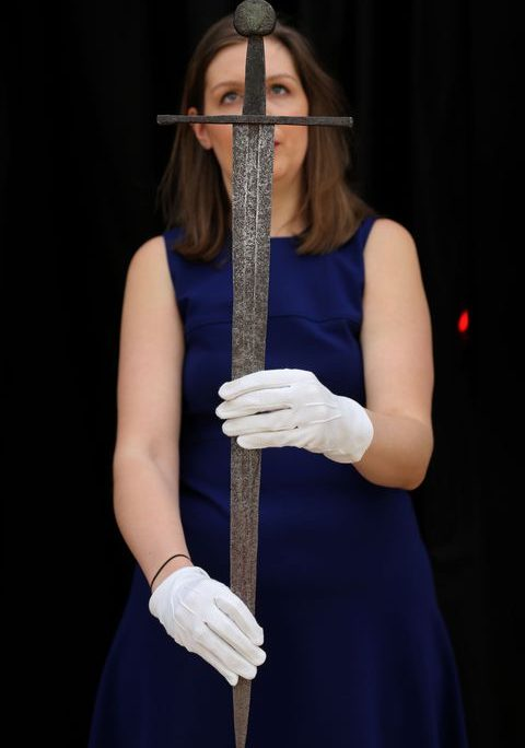 Thanh kiếm bằng thép của người Viking