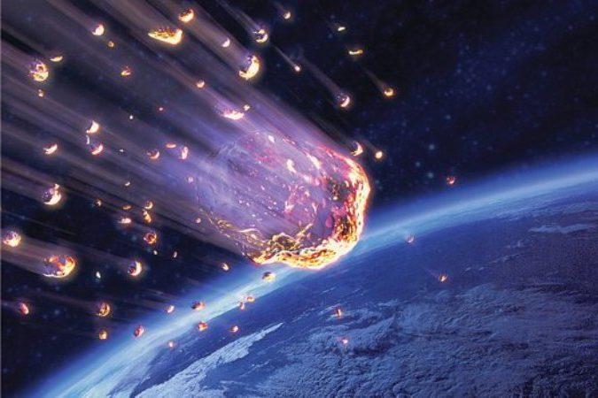 Thiên thạch có nguồn gốc từ vũ trụ mang sắt và thép đến trái đất