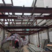 Công trình nhà khung thép tiền chế