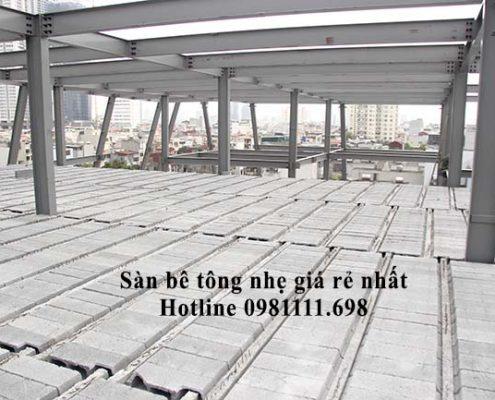 Panel Thành Đô có giá sàn panel nhẹ - sàn bê tông siêu nhẹ rẻ và ưu đãi nhất
