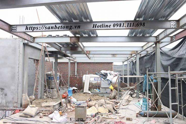 Nhà thép có nhiều ưu điểm vượt trội so với nhà xây thông thường