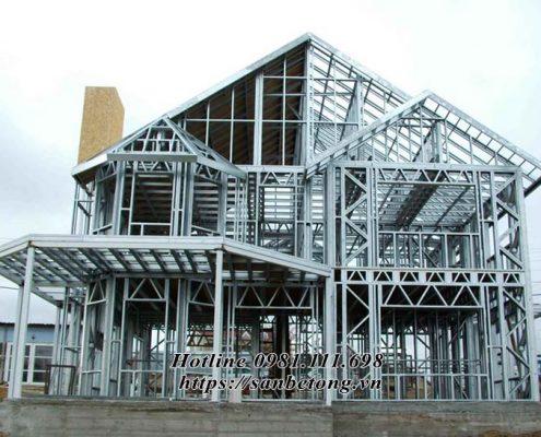 Nhà thép được ưa chuộng tại các nước phát triển