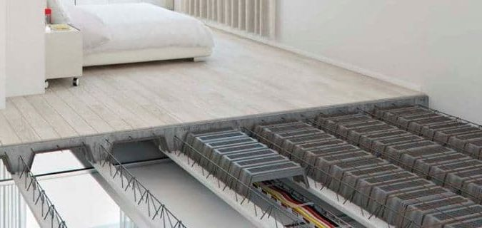 Hệ sàn bê tông nhẹ được sử dụng nhiều trong xây dựng hiện đại