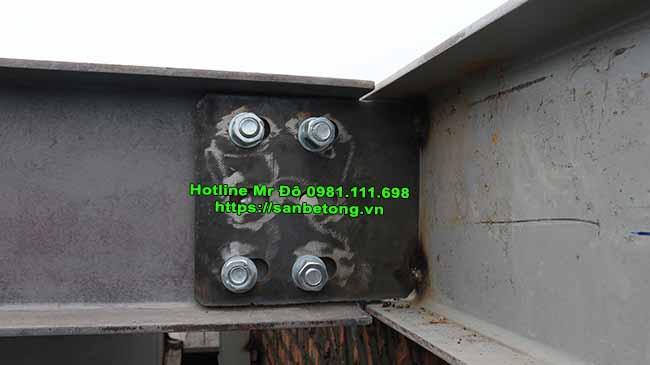 Bulong liên kết trong xây dựng nhà khung thép tiền chế