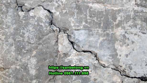 Sửa chữa các vết nứt bê tông