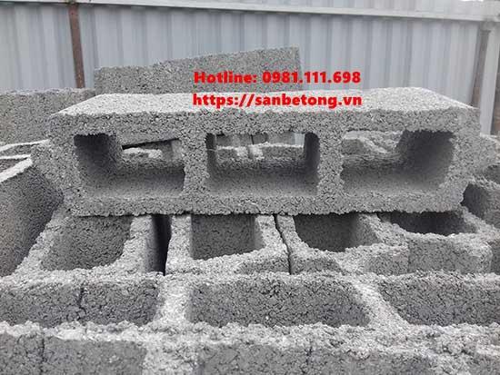 Gạch bê tông nhẹ dùng trong sàn bê tông nhẹ
