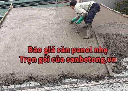 Giá sàn bê tông nhẹ