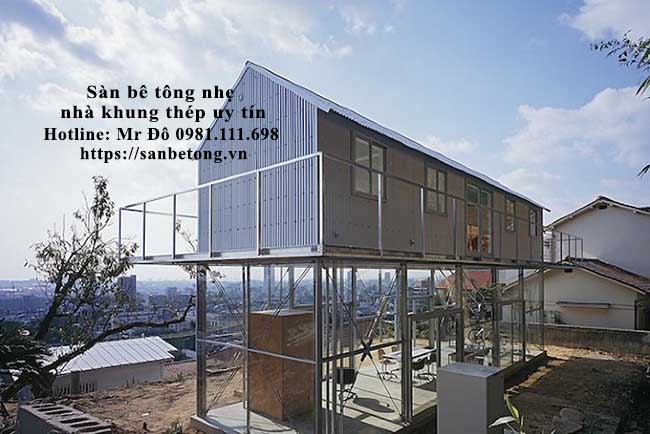 Nhà khung thép tiền chế được ưa chuộng ở nhiều nước trên thế giới và Việt Nam