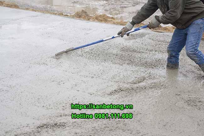 Bê tông được sử dụng phổ biết trong xây dựng