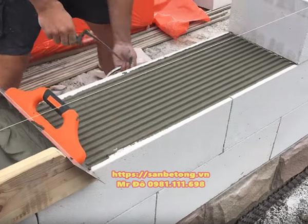 Gạch bê tông nhẹ chưng áp được dụng phổ biến trong xây dựng