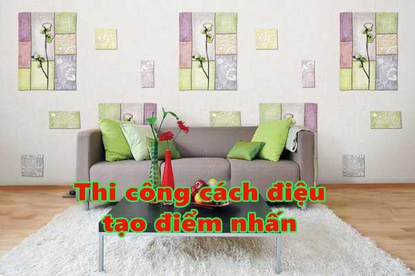 Phá cách để tạo điểm nhấn cho ngôi nhà