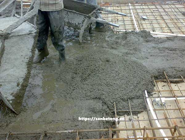 Mỗi loại công trình có một độ dày sàn bê tông khác nhau