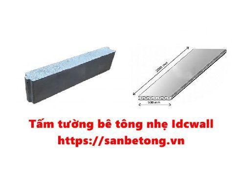 Tấm tường bê tông nhẹ Idcwall