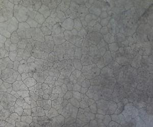 Nứt bê tông do bị khô cướp