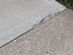 Bê tông bị nứt vỡ do khe co giãn quá rộng