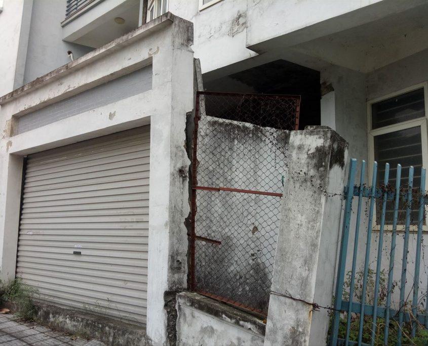 Sụt lún nền nhà