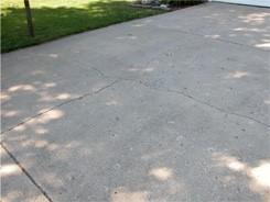 Hình 5: Các vết nứt trên đường lái xe, nơi các mối nối nên được đặt